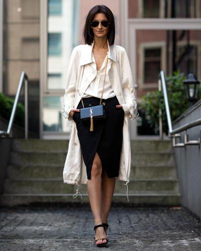 Streetstyle: Shop-Besitzerin und Bloggerin Golestaneh ist ein Garant für sensationelle Outfits. Ob nun im monochromen Casual Chic ...