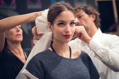 Backstage bei der Fashion Week Berlin