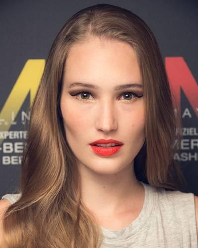 Make-up-Trends: ... die Trendfarbe Orange. Diesmal auf den Lippen.