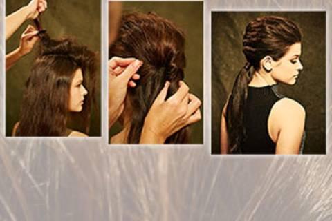 Schritt für Schritt erklärt: Frisuren mit Zopf