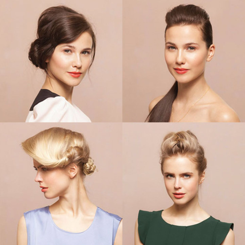 Diese Frisuren erklären wir Schritt für Schritt