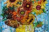 """Einer von Perkins Lieblingsstücken: Die """"Sonnenblumen"""" von van Gogh."""