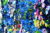 """Die Original-""""Wasserlilien"""" von Monet haben bei der letzten Versteigerung 34 Millionen Euro gekostet - diese Version ist fast genau so schön und deutlich günstiger."""