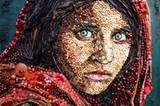 """Das vielleicht berühmteste Pressefoto überhaupt: """"Afghanisches Mädchen"""""""