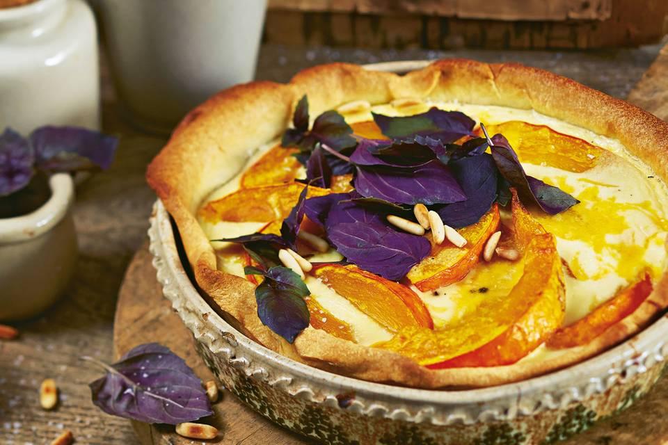 Tartes & Quiches: Pikante Kuchen aus dem Ofen