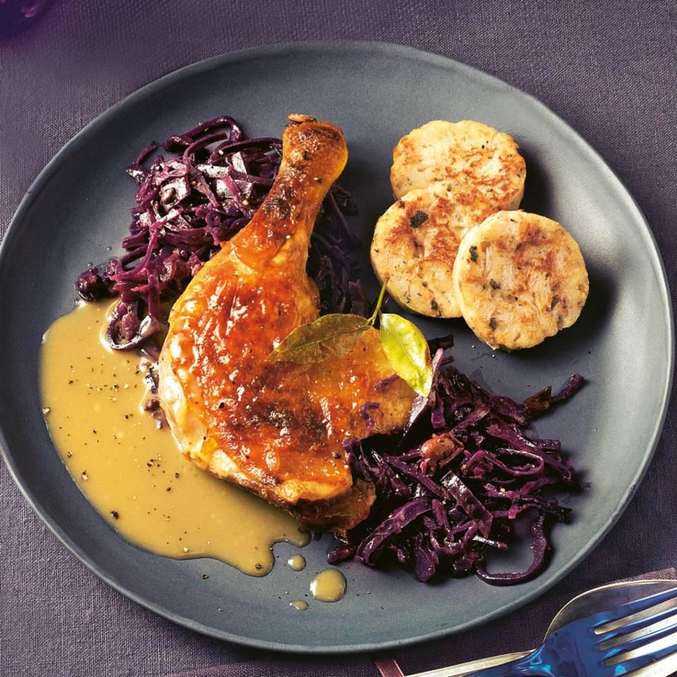Menü mit Ente - für Traditionsbewusste