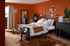 Schlafzimmer Bett Decke
