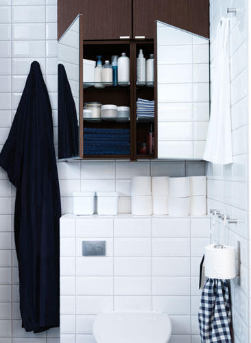 Badezimmer Schwarzweiss