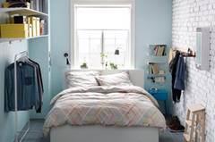 Schlafzimmer Bettwäsche Regal