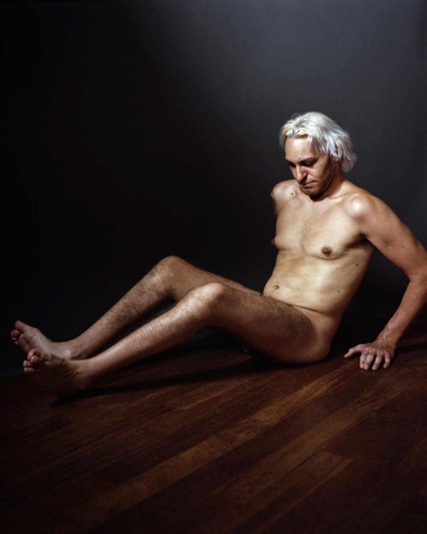 Bewegende Fotos: Seine Models fand der Fotograf in einem Internet-Forum für Menschen mit Behinderung.