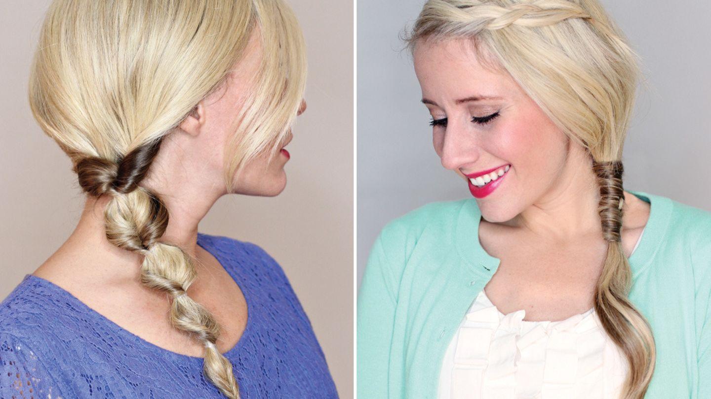 Haar-Styling: So cool kann eine Zopf-Frisur aussehen  BRIGITTE.de