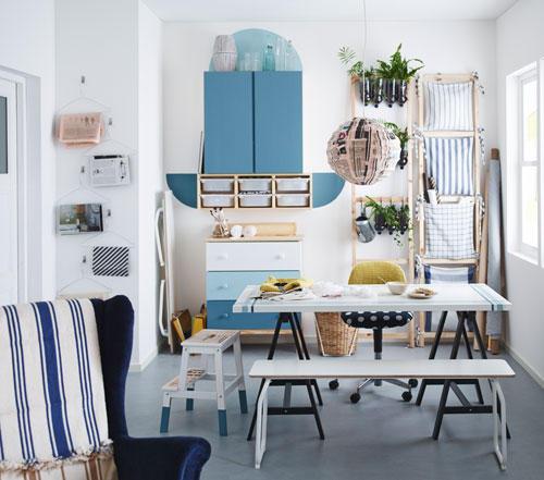 Arbeitsplatz Im Wohnzimmer Einrichten Ikea Gestalte Dir: Selbermachen: Kreative DIY-Ideen Fürs Zuhause