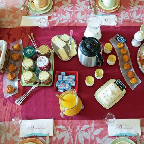 "Das leckere Frühstück im ""à la maîtresse"""