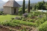 Der Garten der B&B-Chefin Ghislaine de Chalendar