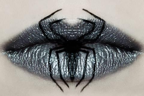 Lippen-Make-up zum Gruseln