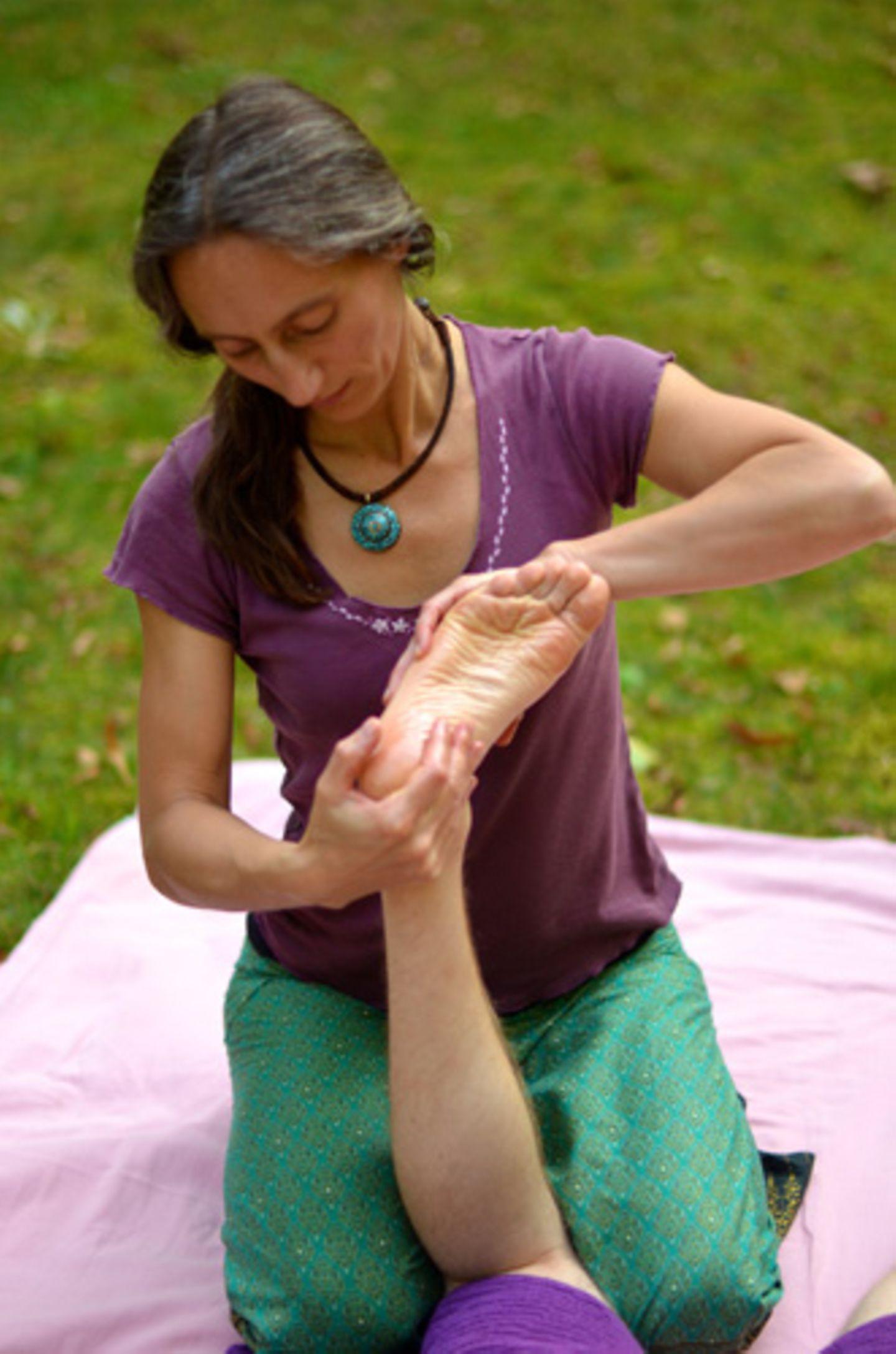 Wie lange dauert eine Massage-Sitzung?