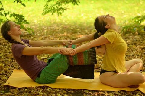 Was ist eine Ayurvedische Yoga-Massage?