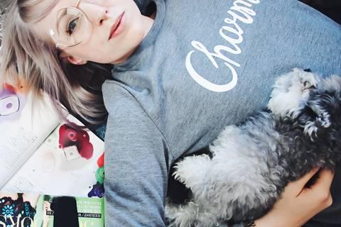 Blogger und ihre Hunde