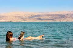 8) Totes Meer, Israel und Jordanien