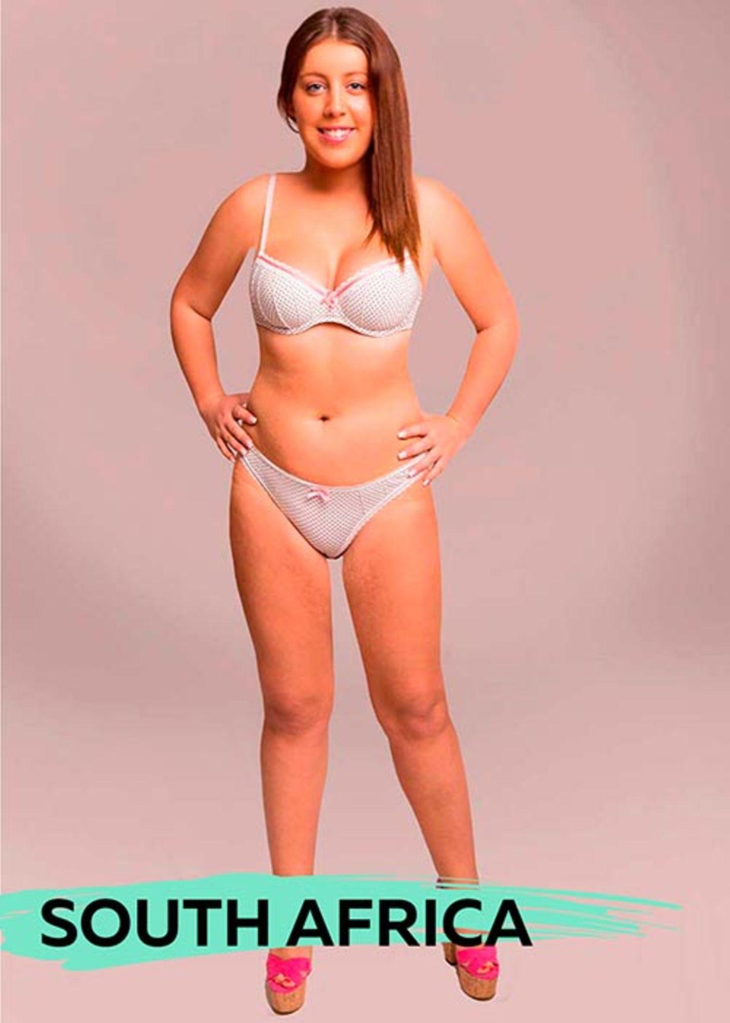 "Tolles Fotoprojekt: Eine Frau, 18 ""perfekte"" Körper"