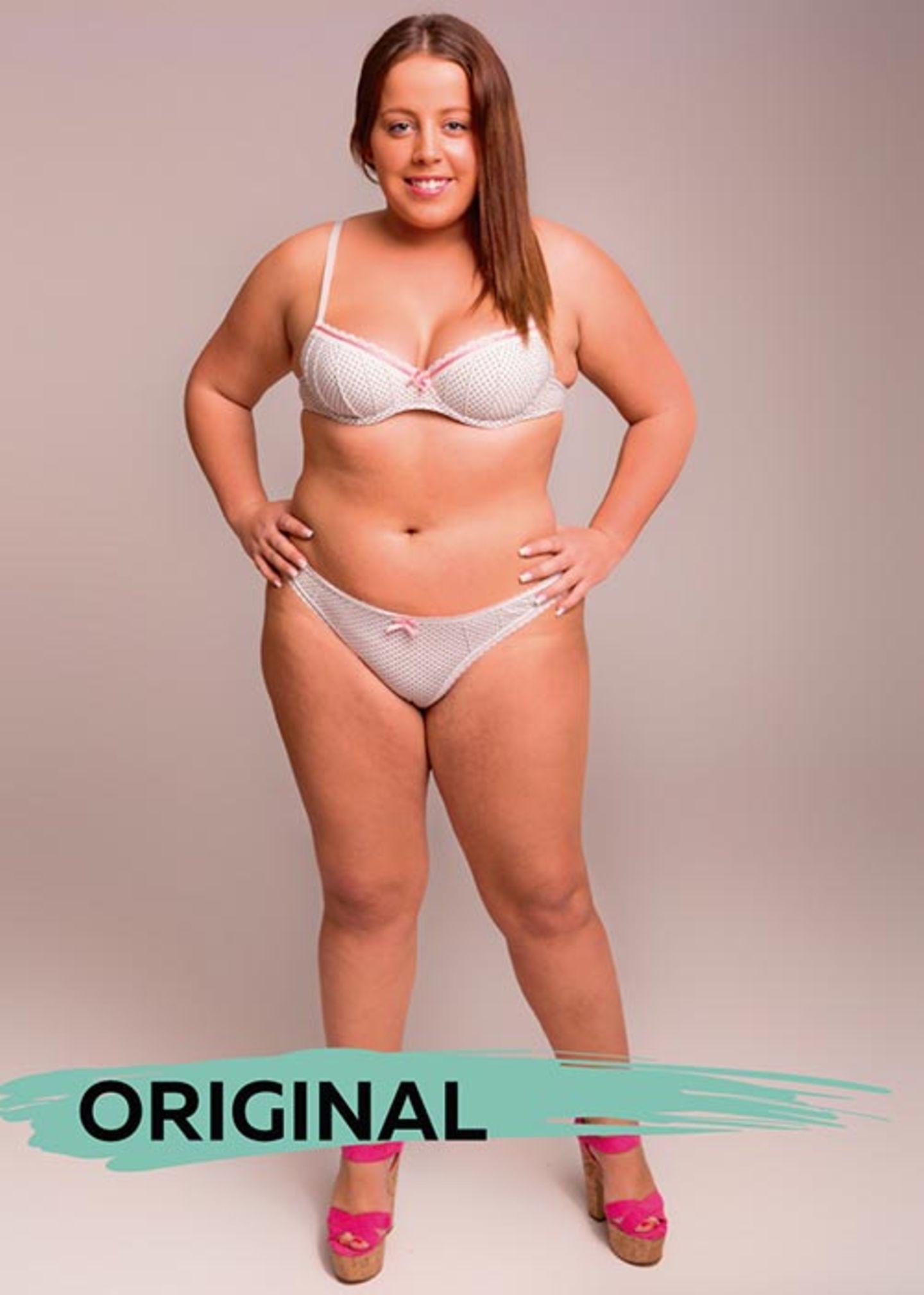 Der perfekte weibliche Körper