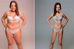 "Eine Frau, 18 ""perfekte"" Körper"