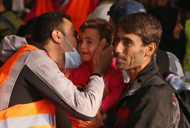 Offene Grenzen für Flüchtlinge