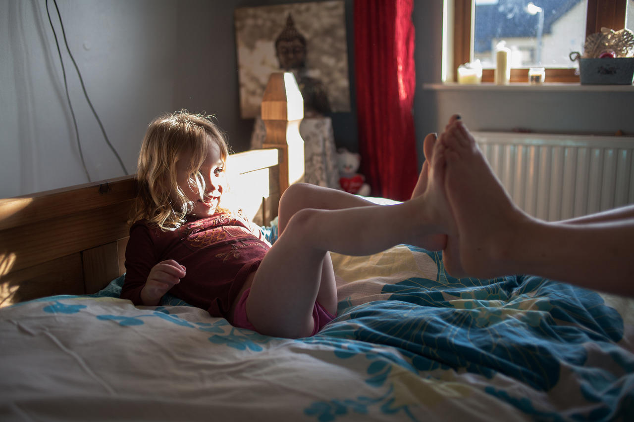 """Fotoserie: """"Ich versuche immer, auch die Stärke zu zeigen, die in der Sanftheit steckt"""", sagt Samantha Conlon."""