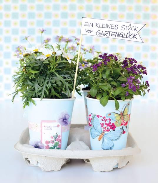 Anleitungen: Deko für den Garten basteln - 3 DIY-Ideen | BRIGITTE.de
