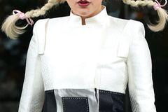 Stars mit Flechtfrisuren: Lady Gaga