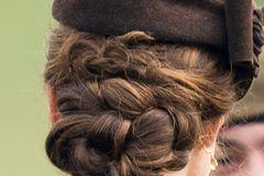 Stars mit Flechtfrisuren: Kate Middleton