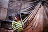 Alltag im Flüchtlingscamp, fotografiert von Kindern