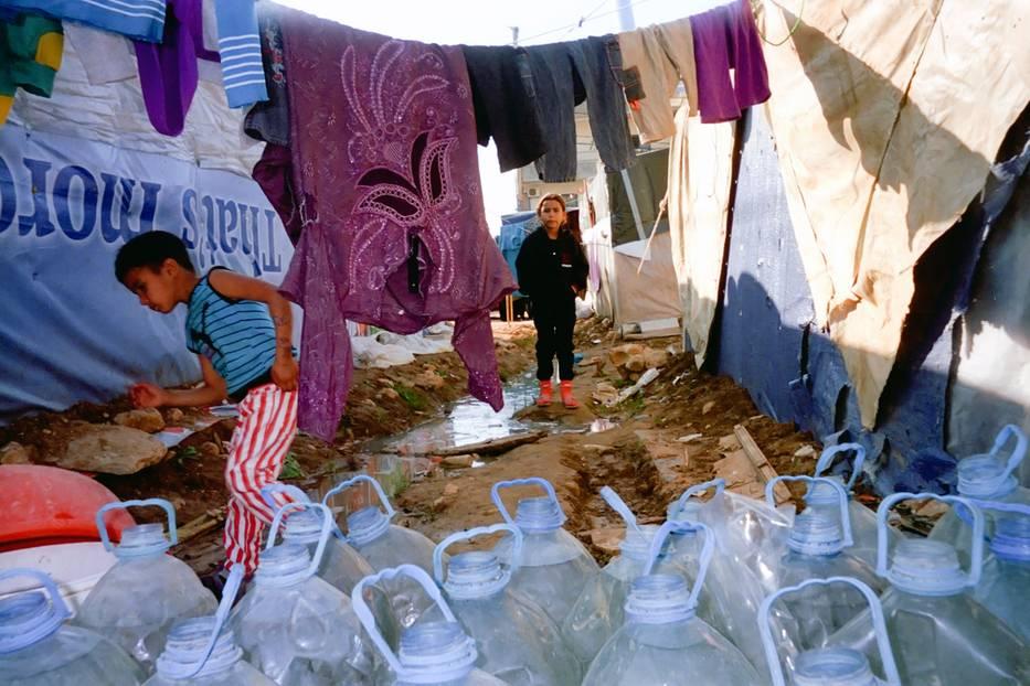 Zwischen Plastik und Wäsche