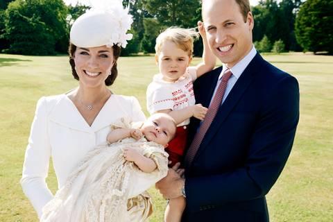 Baby Charlottes Taufe - die offiziellen Bilder sind da