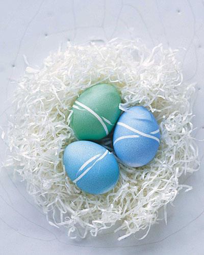 Ostereier-Nest