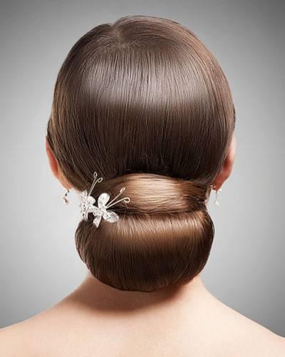 Frisuren für die Hochzeit: Ballerina-Dutt