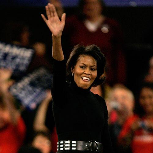 Früher: Michelle Obama