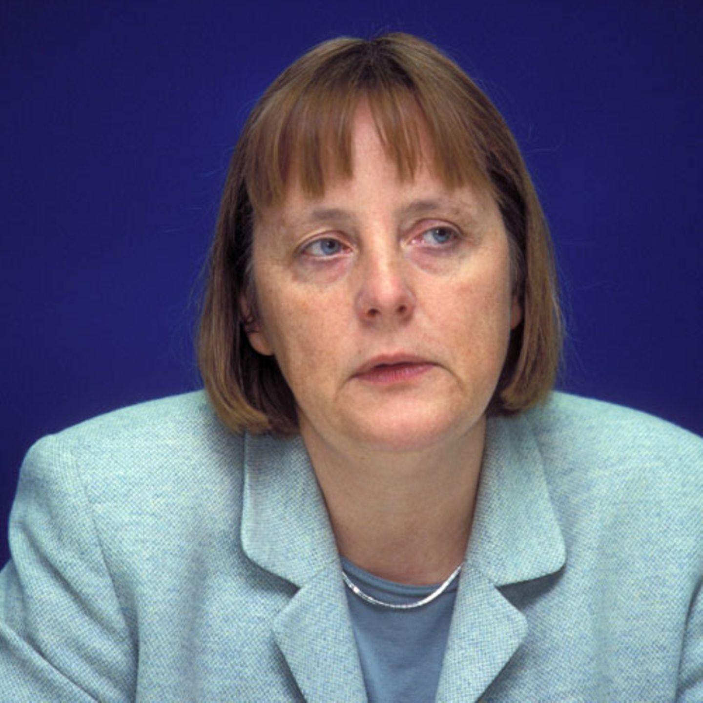 Früher: Angela Merkel