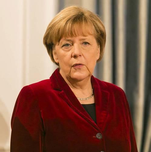 Heute: Angela Merkel