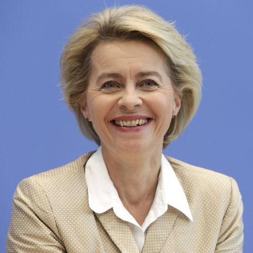 Heute: Ursula von der Leyen