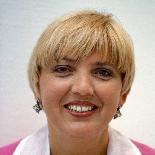 Früher: Claudia Roth