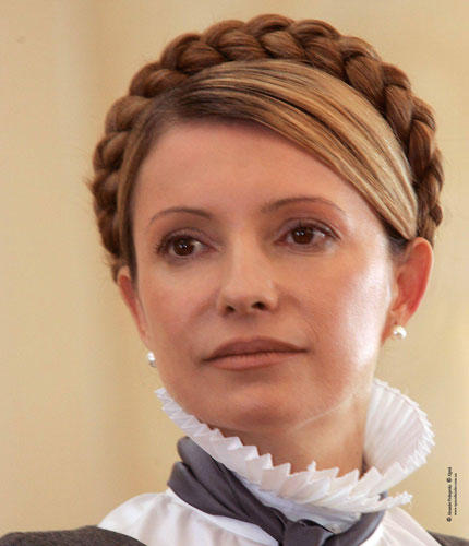 Heute: Julija Timoschenko