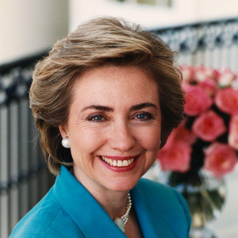 Früher: Hillary Clinton