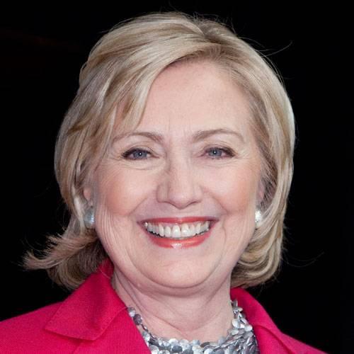 Heute: Hillary Clinton