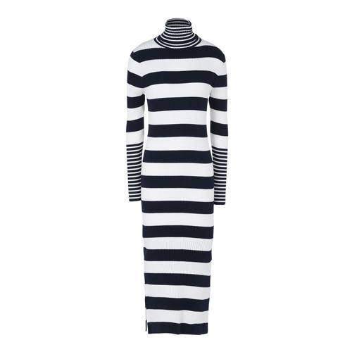 Bodenlanges Streifen-Kleid von Tommy Hilfiger