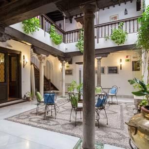 """""""Casa del Capitel Nazarí"""" in Granada, Spanien"""
