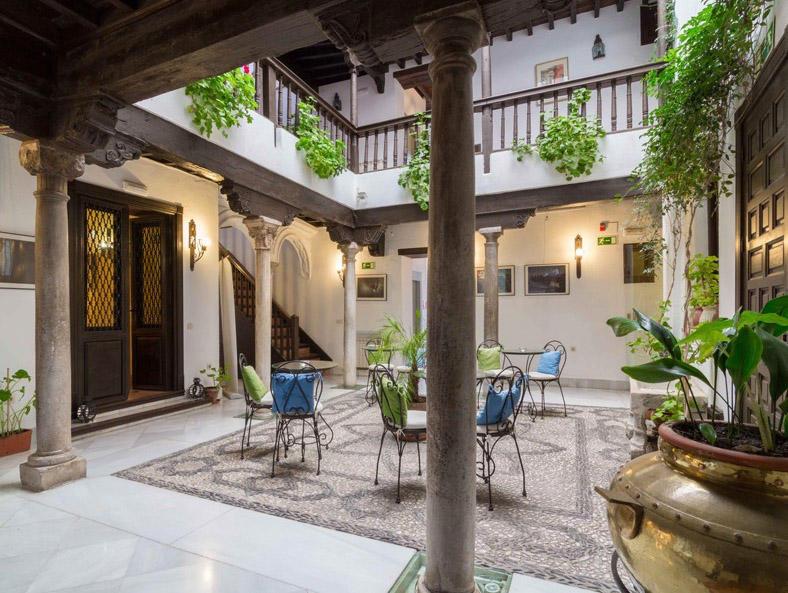 Spanien, Granada: Hotel Casa del Capitel Nazarí