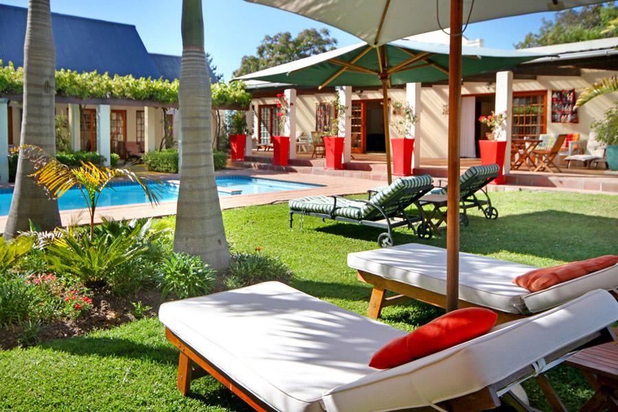 Südafrika, Stellenbosch: Kleinbosch Lodge