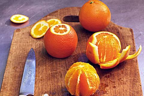 Orangen filetieren - so geht's