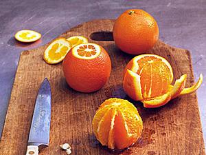 Orangen filetieren - so funktioniert's